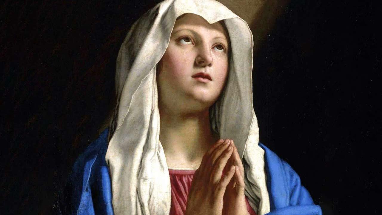 A fé humilde de Nossa Senhora