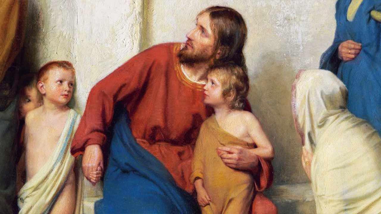 O abraço de Deus aos humildes