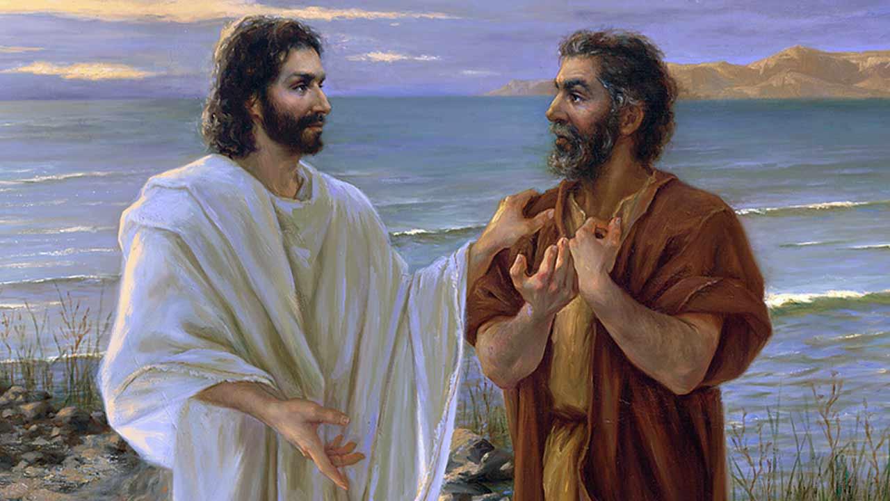 A oração de Cristo precede a nossa