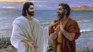 963. A oração de Cristo precede a nossa