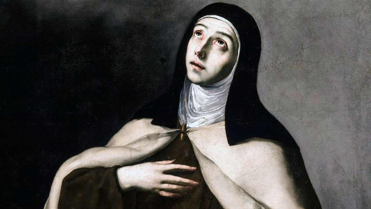 Santa Teresa, mestra da santidade