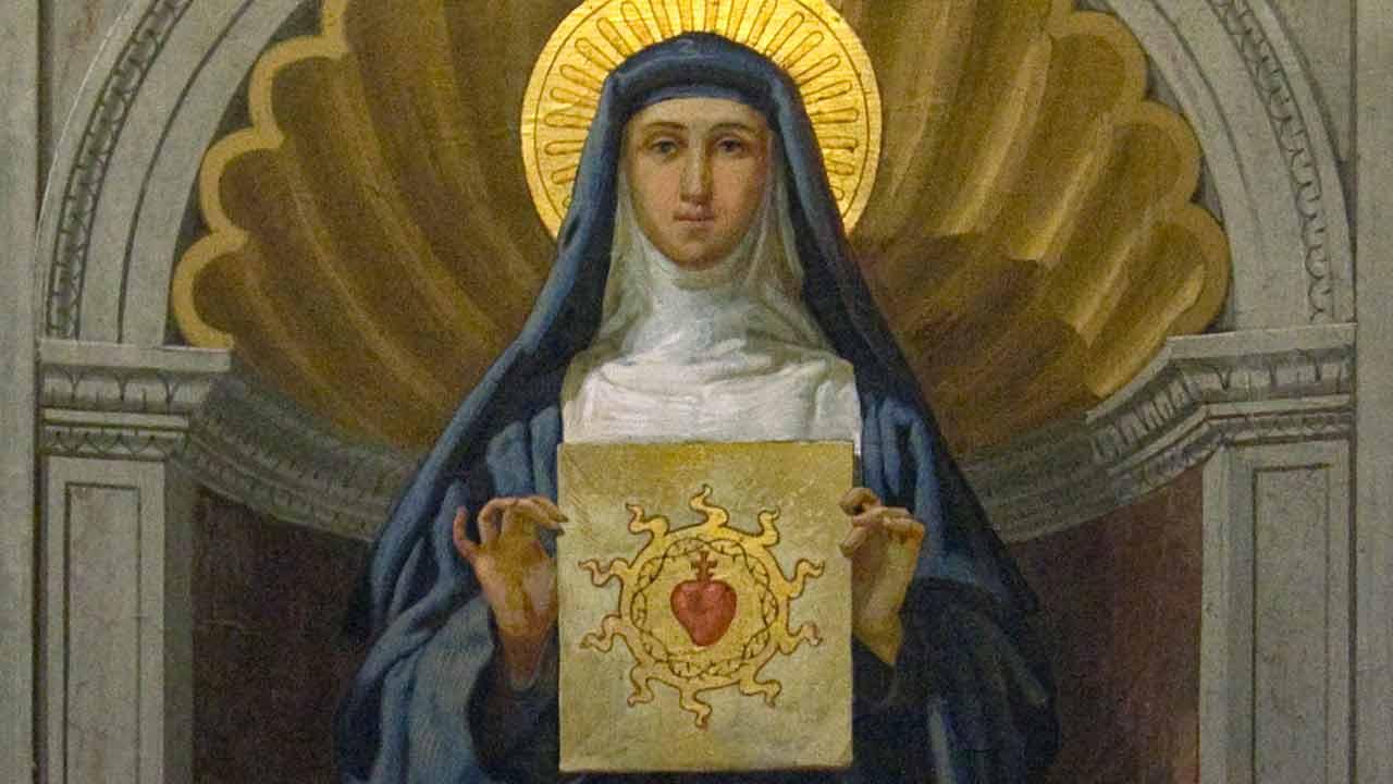 Memória de Santa Margarida Maria Alacoque
