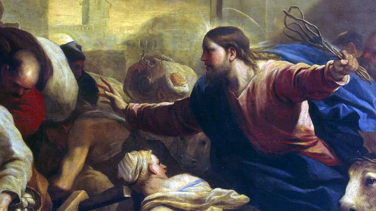 O chicote de Cristo