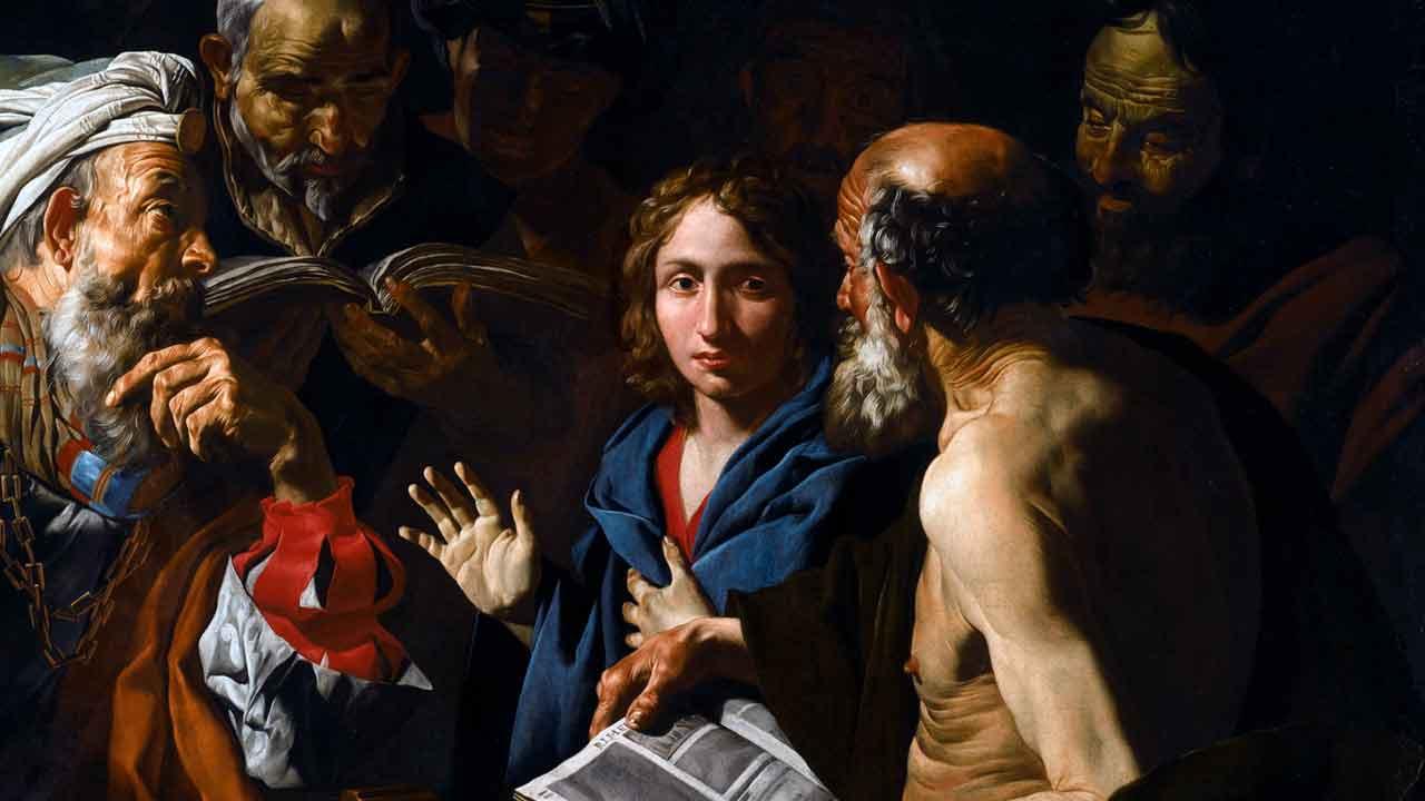 Perda e encontro do Menino Jesus no Templo