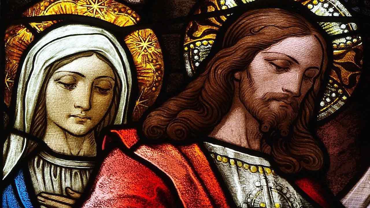 """""""A mãe de Jesus estava presente"""""""