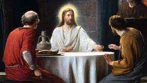 1142. É Jesus ressuscitado que está na Eucaristia