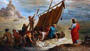 294. Terceira aparição do Ressuscitado aos discípulos