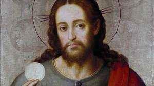 1154. O alimento da fé e o da Eucaristia