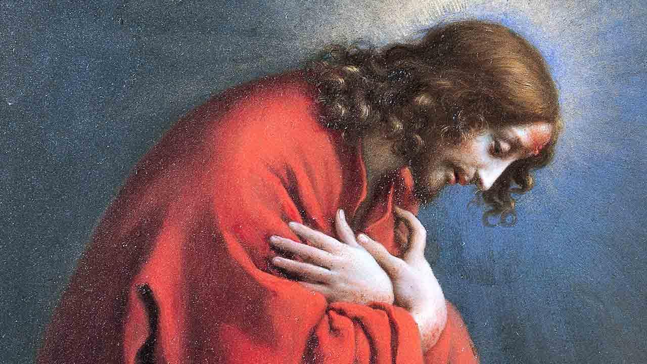 Jesus rezou por nós