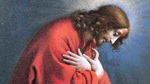 1178. Jesus rezou por nós