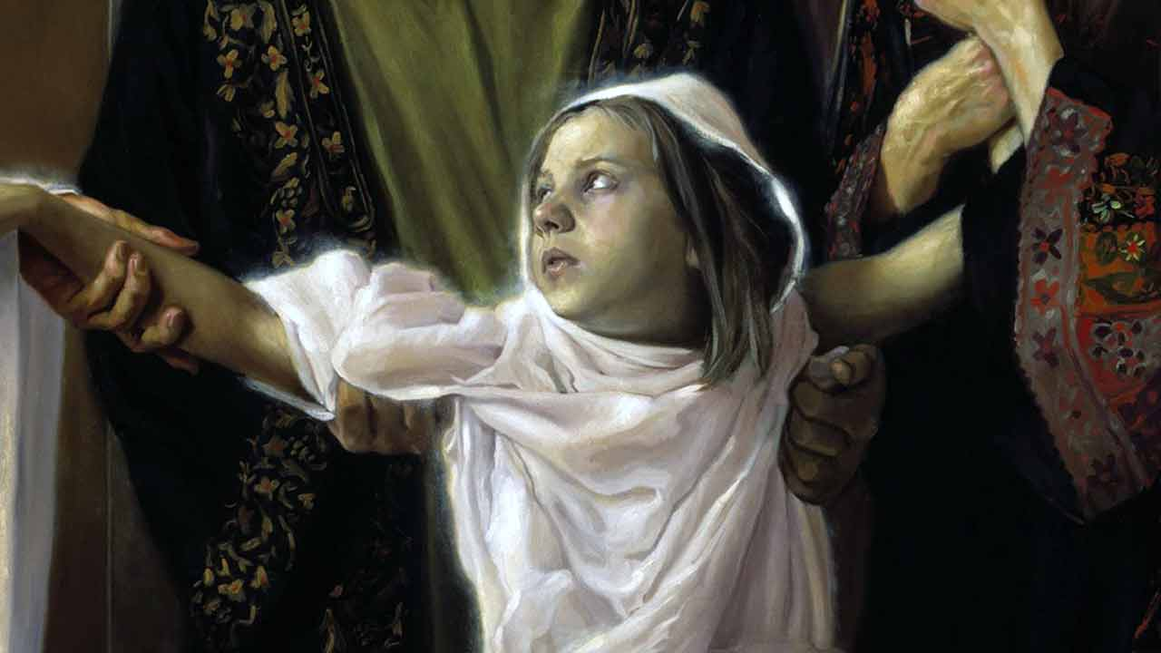 """""""Coragem, filha! A tua fé te salvou"""""""