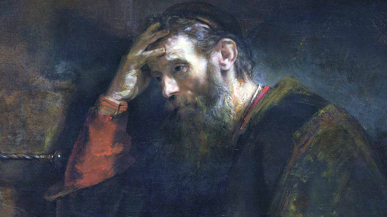 A tristeza dos Apóstolos e a nossa