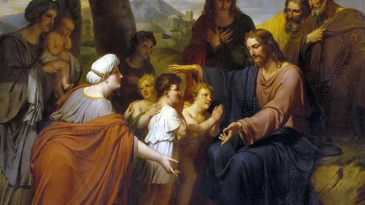 Como criancinhas sob o olhar do Pai