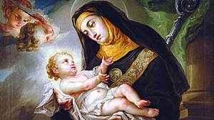 1391. Memória de Santa Escolástica