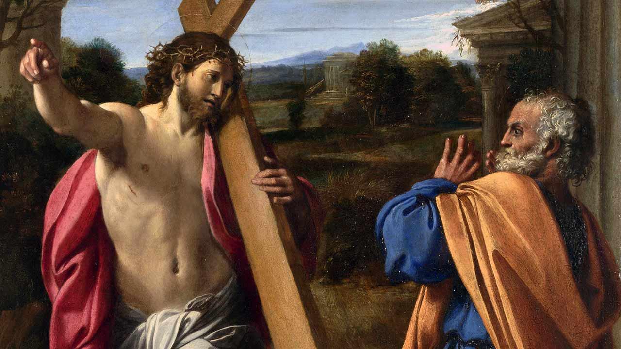 Eu vim para a cruz!