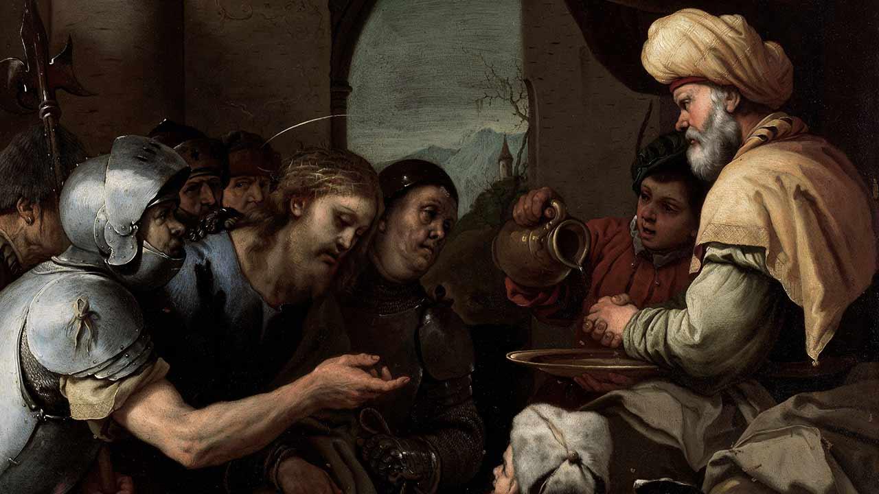 Jesus diante de Pilatos