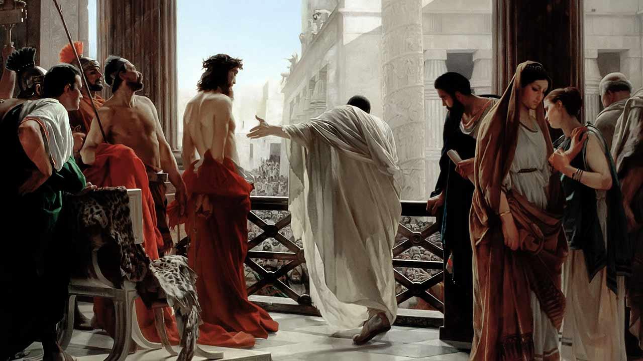 O povo condena Jesus