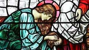 1439. A unção de Maria e as quatro virtudes