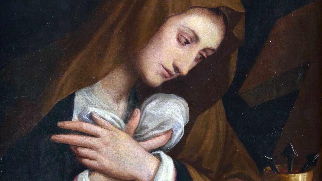 A tristeza de Nossa Senhora