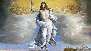 349. A humanidade elevada à glória divina