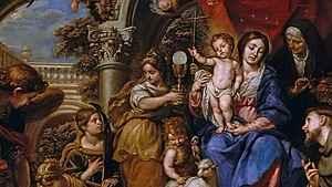 1495. As prefigurações da Eucaristia