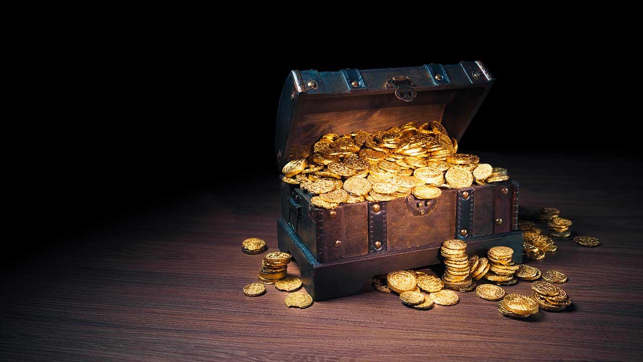 A prontidão de quem encontra um tesouro