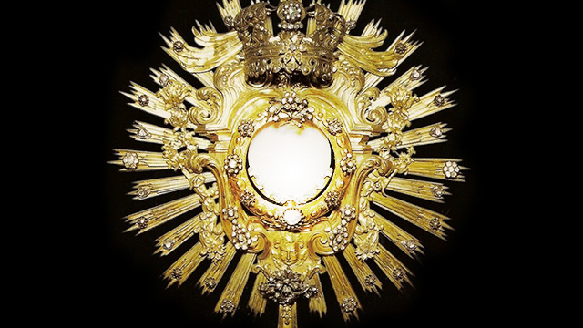 Presença real de Jesus na Eucaristia