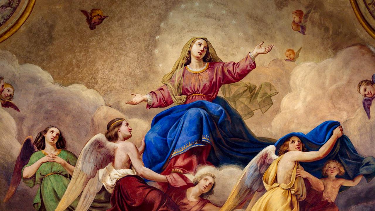 São Miguel e a Virgem do Apocalipse