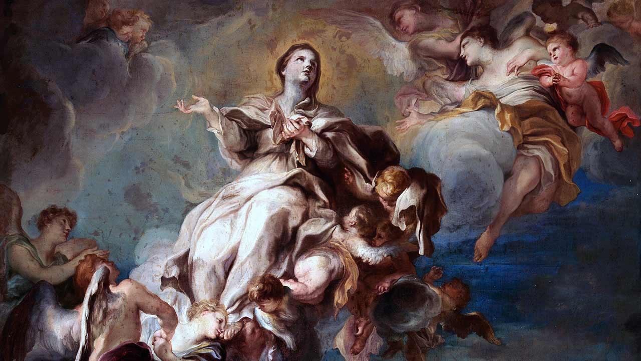A felicidade perpétua da Virgem Maria