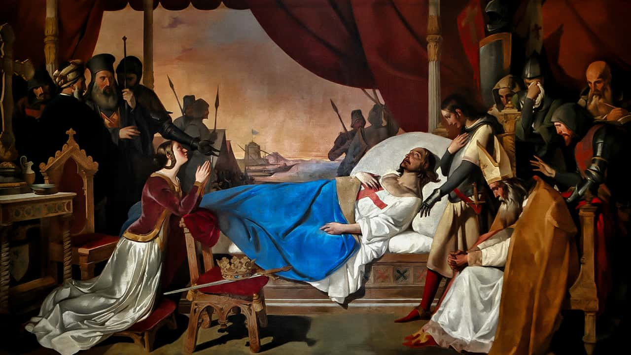 Memória de São Luís IX, Rei de França