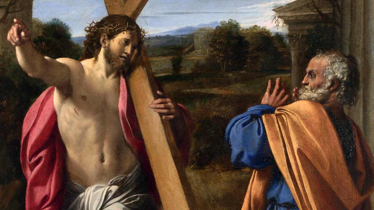 Não fuja da cruz!