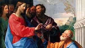 1587. Pedro professa a fé em Cristo