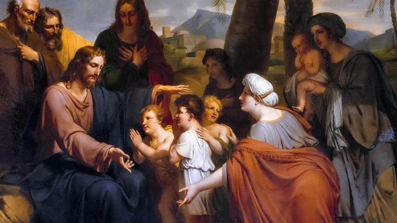 Cristo, o primeiro pequenino