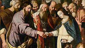 1690. Memória dos Esponsais de Maria e José