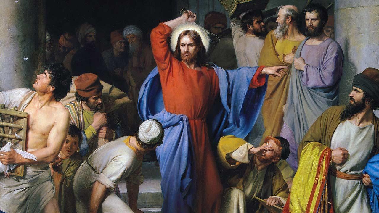 É você o templo que Jesus quer purificar!