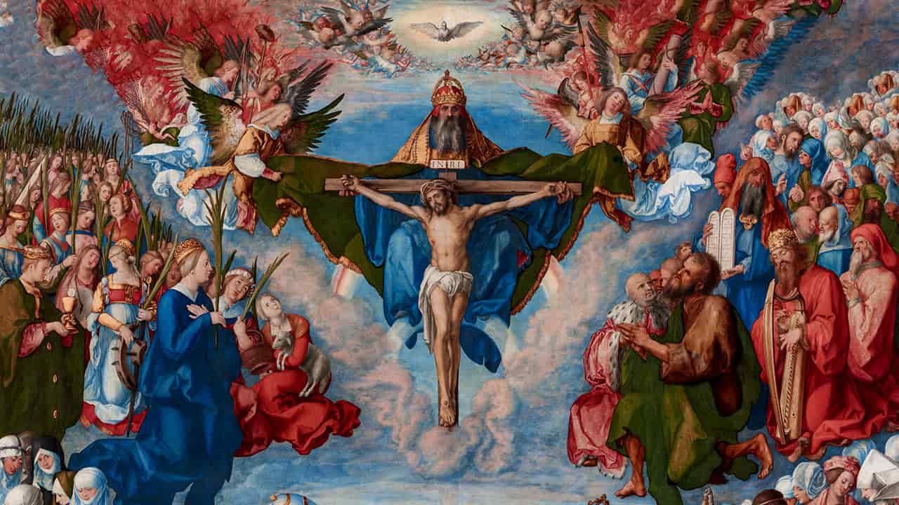 Cristo vive nos seus santos