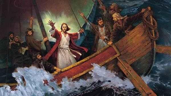 """""""Quem é este, a quem até o vento e o mar obedecem?"""""""