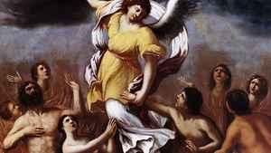 1829. Por que rezar pelas almas do Purgatório?