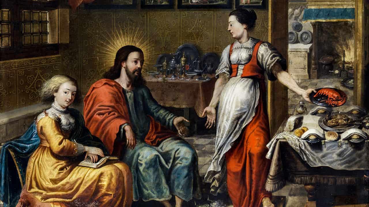 Memória dos Santos Marta, Maria e Lázaro