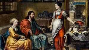 1850. Memória dos Santos Marta, Maria e Lázaro