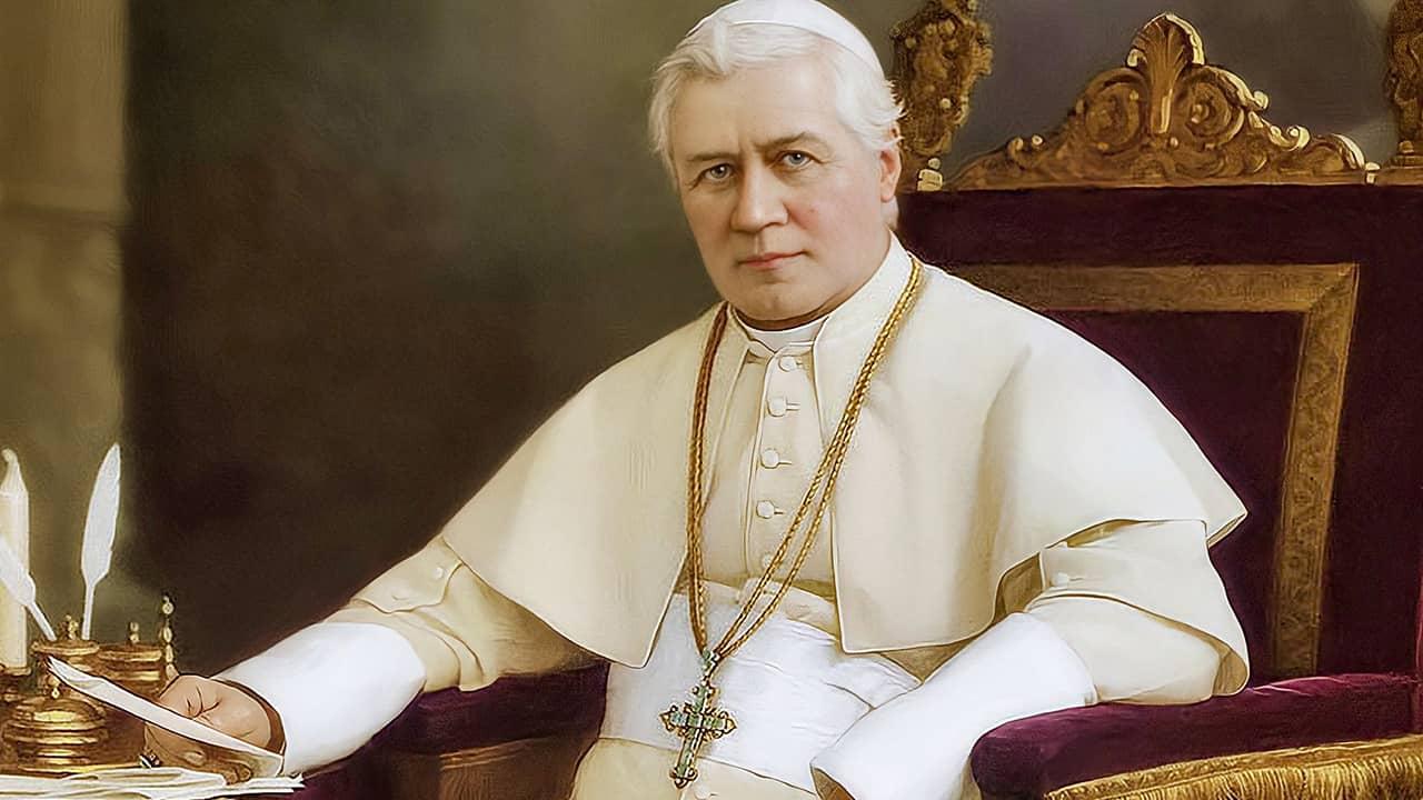 O Papa que combateu o modernismo
