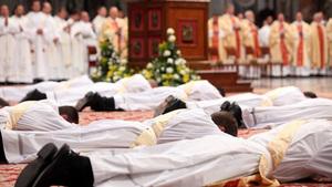 136. Qual é a origem do celibato sacerdotal?