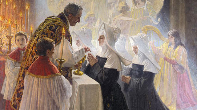 Um adulto precisa fazer catequese paroquial antes de aproximar-se da Sagrada Comunhão?