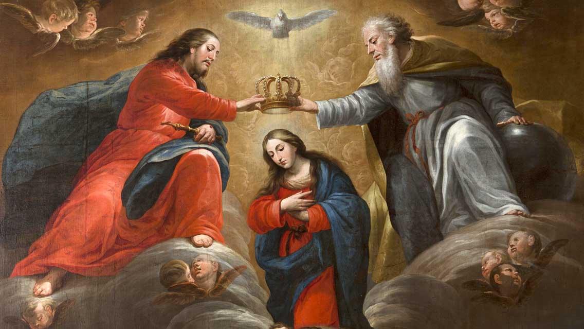 Por que nós chamamos a Virgem Maria de Rainha e de Senhora?