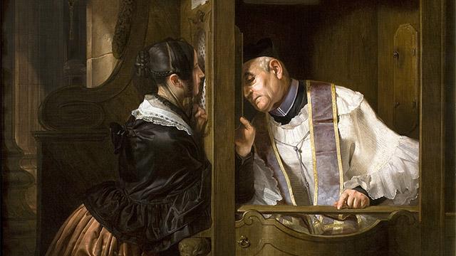 Qual é a matéria do sacramento da Confissão?
