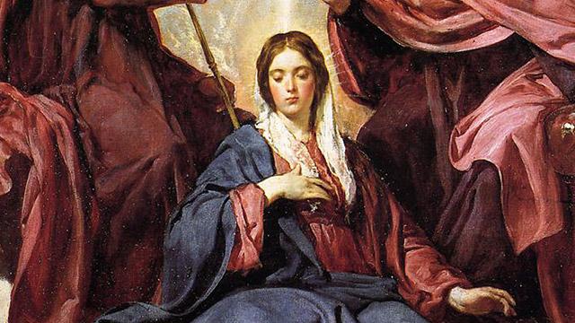 A realeza de Maria Santíssima