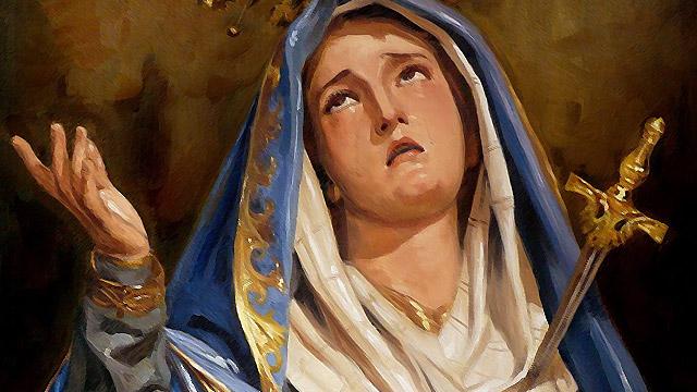 Memória de Nossa Senhora das Dores - Consagrados da Virgem, consagrados na Cruz