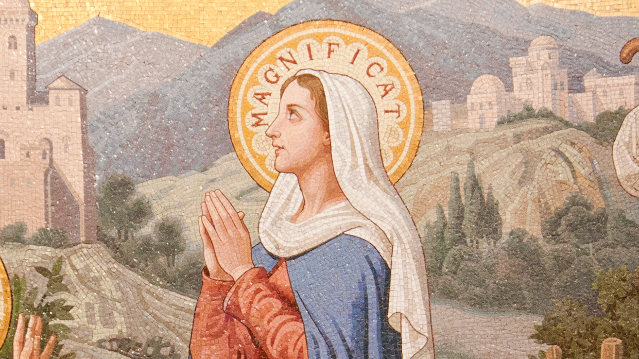 O cântico de Nossa Senhora