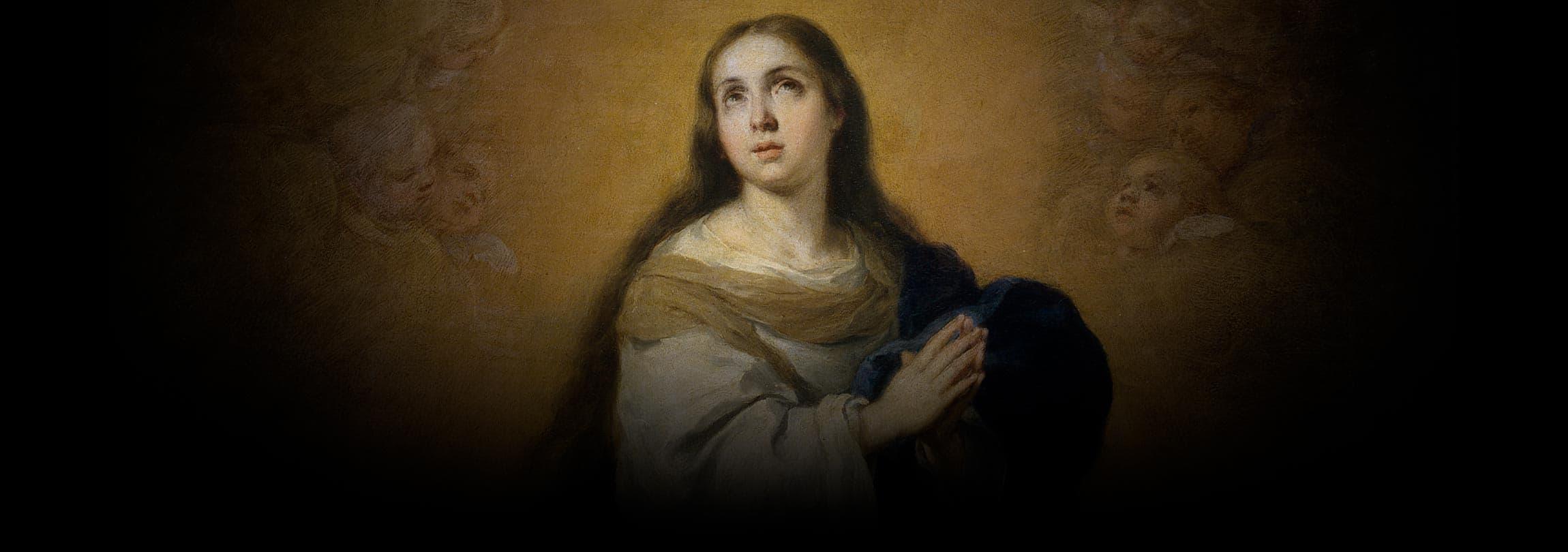 Bento XVI: Maria é bem-aventurada por sua fé firme em Deus