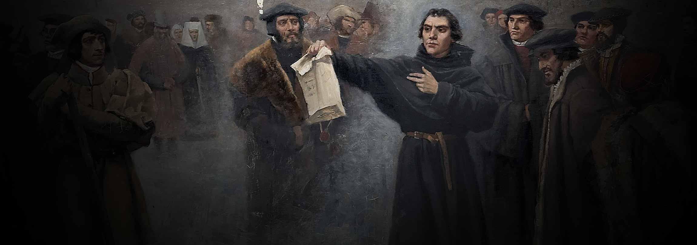 """Com que direito Lutero pretendia """"reformar"""" a Igreja?"""